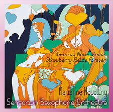 "Marianne Nowottny and the Sensorium Saxophone Orchestra ~ 7"" 45 RPM"