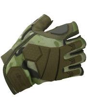 Alpha Fingerless Tactical Gloves - BTP Ideal Fishing/Cycling Gloves (Medium)