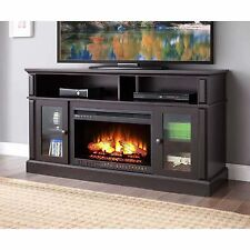 Fireplaces Media Center TV Stand 70 Inch Electric Console Clearance With Remote
