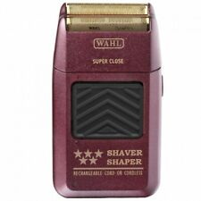 Wahl 5 Star Shaver / Shaper #8061-100 Burgundy