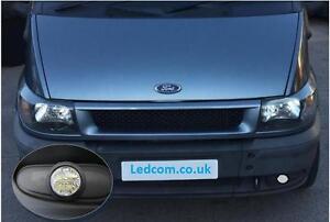 LED Day Running Lights Kit DRL Ford Transit Mk6 Van and Motorhome 2000 to 2006
