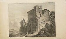 Eau-forte de Weirotter F.E (Château)