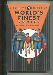 WORLD'S FINEST ARCHIVES VOLUME ONE EARLIEST SUPERMAN BATMAN TEAM-UPS NEAR MINT
