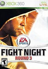 Fight Night Round 3 XBOX 360 Sports (Video Game)