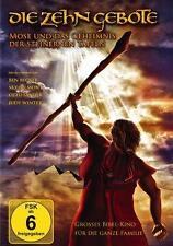 Die Zehn Gebote-Grosses Bibel Kino für die ganze Familie-DVD  Neu!