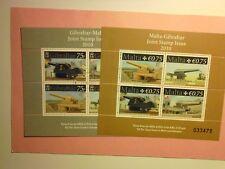 GIBRALTAR: 2010 Hundred Ton Gun Sheets(2) VFU MS1347