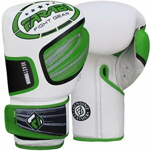 Farabi  Real Leather Boxing Gloves Beast Series
