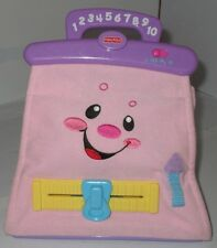 Fisher Price Laugh & Learn Pretty Purse Talking Mirror Comb Money Keys Used Toy