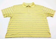 PGA Tour XXXL, 3XL Polyester Golf Polo Yellow
