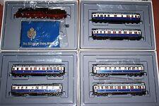 TRIX KAISER WILHELM II TRAIN 22503 21240 21241 21242 VGBC HO GAUGE