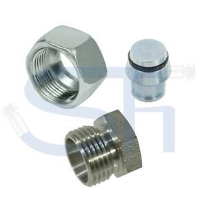 Hydraulik Verschlussstopfen Verschlusskappe metrisch leicht Schlauchverschluss