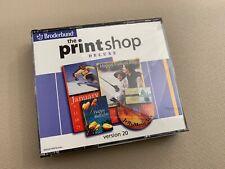 Broderbund The Print Shop Deluxe Version 20 Retail Full Version