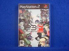 ps2 PERSONA 3 FES Shin Megami Tensei RARE RPG Game Playstation PAL UK Version