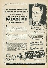 W0325 Crema da barba PALMOLIVE - Pubblicità 1953 - Advertising