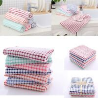 100% Egyptian Terry Cotton Kitchen Tea Towels Set Dish Cleaning Drying Clothes