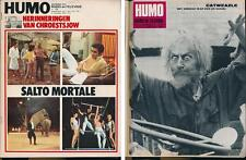 HUMO 1582 (31/12/70) CIRQUE CATWEAZLE THE GUESS WHO THE BEACH BOYS FRANSSENS