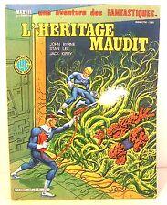 "BD brochée ""les fantastiques -n°36 l'héritage maudit  ed LUG 1985"