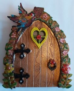 Fairy Door Home Decor Decoration Ornament Handmade Bespoke Elf Door Faerie
