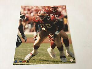 Irv Smith Hand Signed Autographed 8x10 Photo SF San Francisco 49ers a