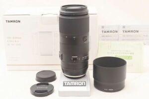 TAMRON Tamron 100-400mm F4.5-6.3 Di VC USD A035 Original box Accessories For Can