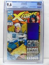 X-Force 25 - Distorted Hologram Error Noted On Label RARE - CGC Graded 9.6