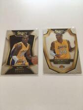 Set of 2 Kobe Bryant Panini Select Basketball Card 2014-2015 Lakers NM-EX