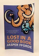JASPER FFORDE Lost In A Good Book 1st/1st UK Signed Uncorrected Proof Curling