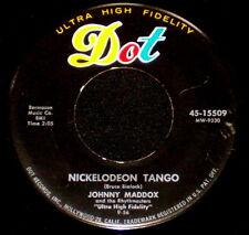 "JOHNNY MADDOX ""NICKELODEON TANGO/Solitude"" DOT 45-15509 (1956) 45rpm SINGLE"