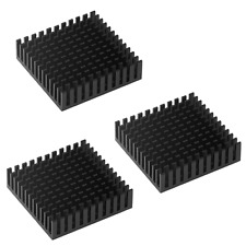 More details for 3 x stepper motor heatsinks nema 17 42 with thermal adhesive backing 3d printer