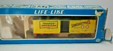 Life-Like Campbell's Soup HO Scale In Original Box Vintages 80's Box Car  ( A10)