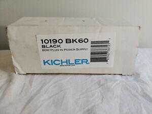 Kichler LED Power Supply 24V 60W Plug in Power Supply, Black - 10190BK60