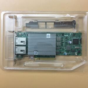 Supermicro AOC-STG-i2T REV 2.0 Dual Port 10GbE Ethernet PCI-E Adapter NIC