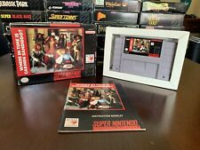Where in Time is Carmen Sandiego? - SNES Nintendo Video Game - Complete In Box