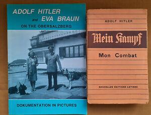 Lot Adolf Hitler and Eva Braun + Mein Kampf (NEL 1934)