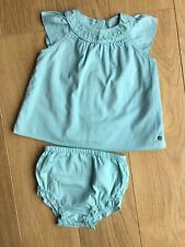 Marks & Spencer Baby Girl Turquoise Summer Playset Outfit 💜 12-18 Months
