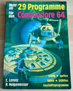 More Than 29 Programs For Commodore 64 - Book From Hofacker