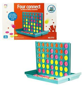 Large Connect Four In A Row 4 In A Line Board Game Kids Children Educational Toy