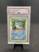 PSA 7 Blastoise Shadowless Holo Rare Base Set 1999 Pokemon Card #2
