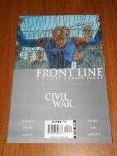 CIVIL WAR FRONT LINE #3 MARVEL COMICS NM (9.4)