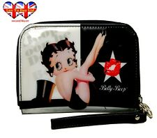 Betty Boop Mini Purse,Women's Wallet,Lady's Purses,Card Holder,Official Licensed