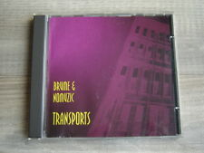 CD experimental industrial PRIVATE noise BRUME & NOMUZIC Transports no music and