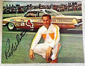 REX WHITE 5.5x4.5 Postcard SIGNED Auto Racer Ford NASCAR Champion COA TTM