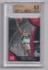 2007-08 Topps Finest KEVIN DURANT #71 RC Rookie BGS 9.5 GEM MINT Sonics Nets