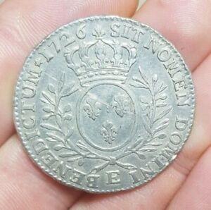 monnaie royale louis xv 1726 a etudier