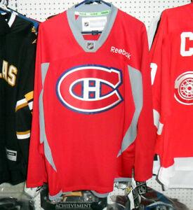 NEW! 50% OFF! Montreal Canadiens Platinum Practice Jersey - Adult Medium