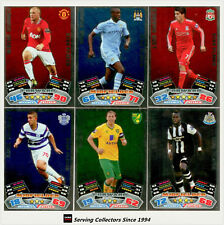 2011-12 Topps Match Attax English Soccer Star Player Foil Card Full Set (20)