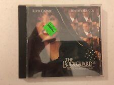 The Bodyguard OST Soundtrack CD Album 1992 Arista full silver