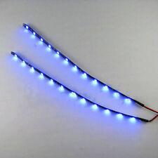 2PC Waterproof 12 LEDs 30cm 5050 SMD LED Strip Light Flexible 12V Car Decor XG