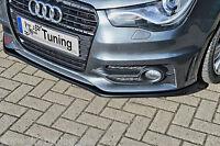 Sonderaktion Spoilerschwert Frontspoiler Cuplippe aus ABS Audi A1 S-Line mit ABE