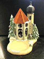 Göbel Szene Hummel Scape 1067-D  Winter Wintertime Chapel beleucht Kirche Spielu